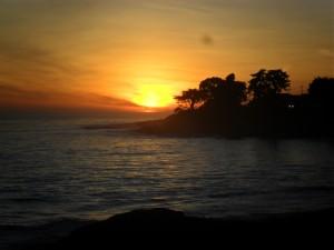 jennifer sugarwoman West Cliff Drive sunset